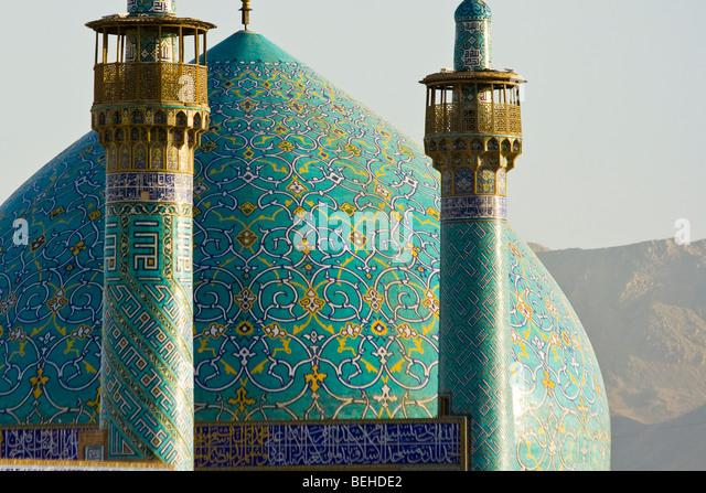 Schah oder Imam-Moschee Imam-Platz in Isfahan, Iran Stockbild