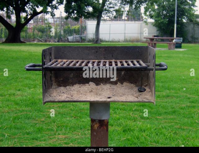 BBQ im park Stockbild