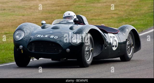 1955 Parson-MG mit Fahrer David Clewley während der Madgwick Cup 2009 beim Goodwood Revival, Sussex, UK. Stockbild