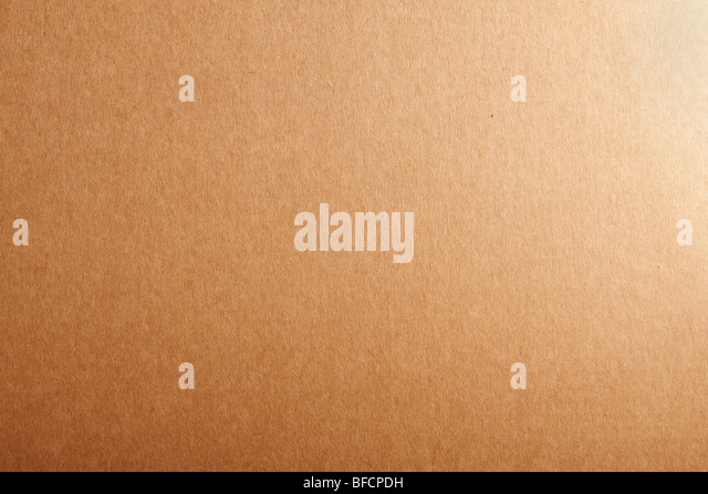 Leere Beige Karton strukturierten Hintergrund. Stockbild