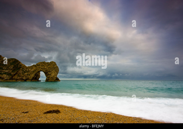 Durdle Door Dorset Stockbild