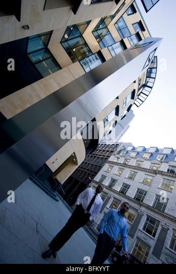 Deutsche Bank AG, City of London Stockbild