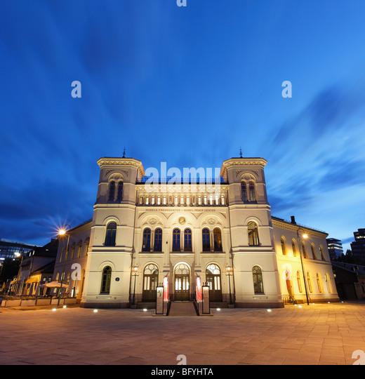 Nobel Peace Center Stockbild