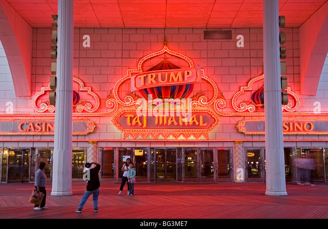 Trump Taj Mahal Casino, Atlantic City, New Jersey, Vereinigte Staaten von Amerika, Nordamerika Stockbild