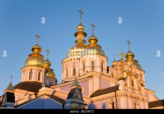St. Michael Kloster, Kiew, Ukraine, Europa Stockbild