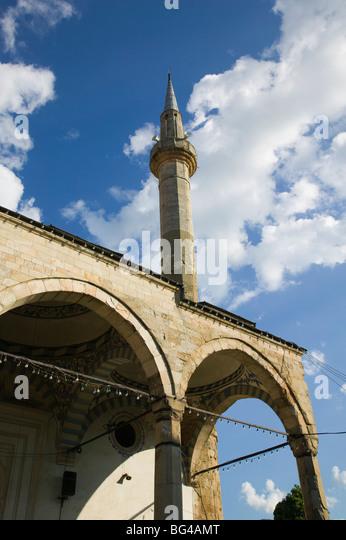 Kosovo, Pri?tina, äußere Jashar Pascha Moschee Stockbild