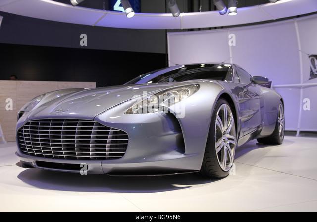 Aston Martin One-77 Stockbild