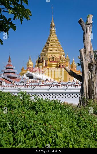 Yadana Mann Aung Paya. Nyaungshwe. Inle-See. Myanmar Stockbild