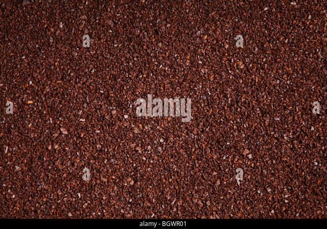 gemahlenen Kaffee Bohnen Hintergrund Stockbild