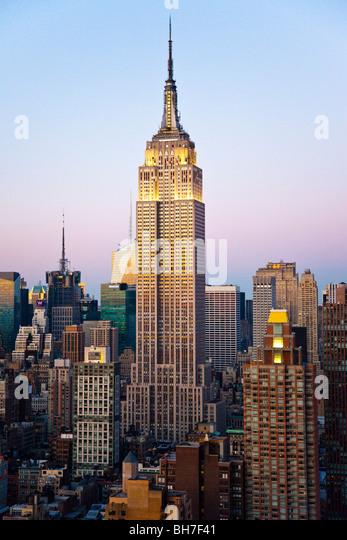 Empire State Building, New York City Stockbild