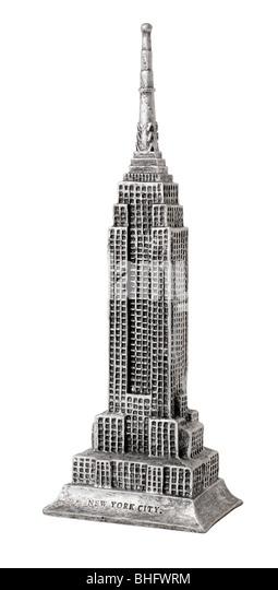 Empire Staatsgebäude Stockbild