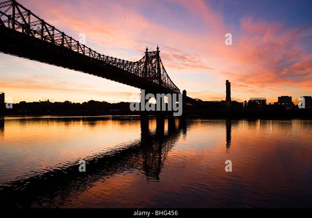 Queensboro bridge New york Stockbild