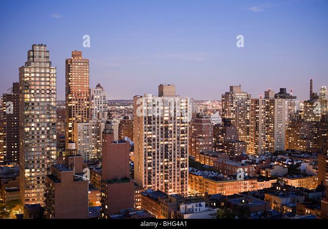 New York-Gebäude Stockbild