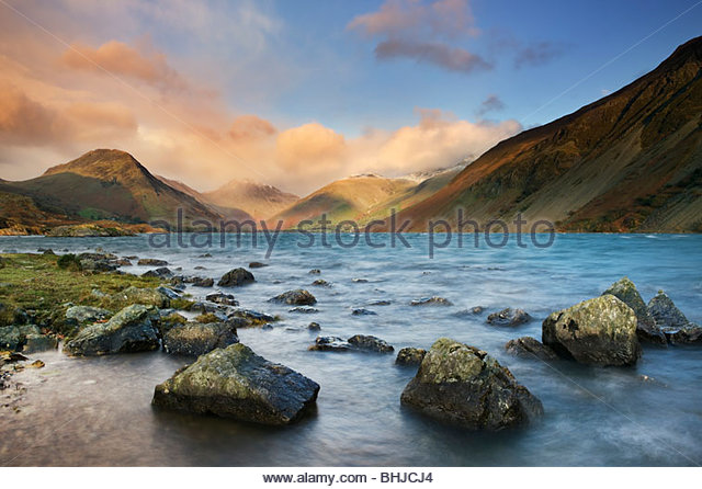 Wastwater Lake District National Park, Cumbria, England, UK Stockbild