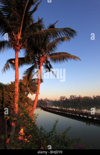 Myanmar, Burma, Yangon, Rangun, Kandawgyi See Stockbild