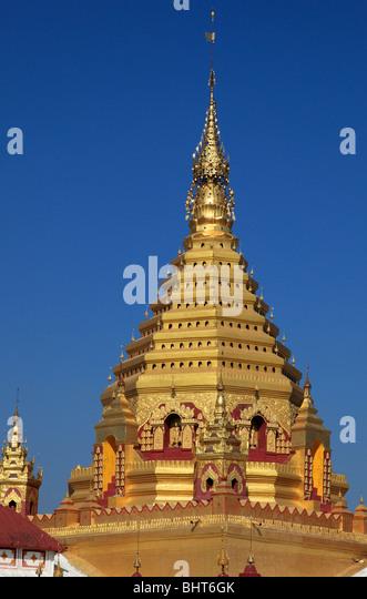 Myanmar, Burma, Nyaungshwe Yadana Man Aung Pagode, Shan-Staat, Stockbild