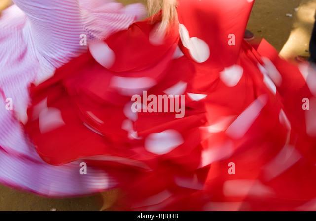 Flamenco-Tänzer, Jerez De La Frontera, Andalusien, Spanien Stockbild