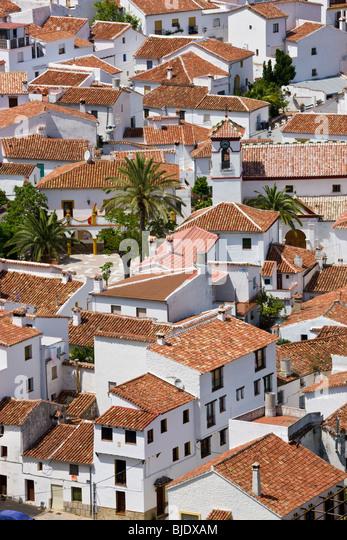 Benadalid, nr Ronda, Andalusien, Spanien Stockbild