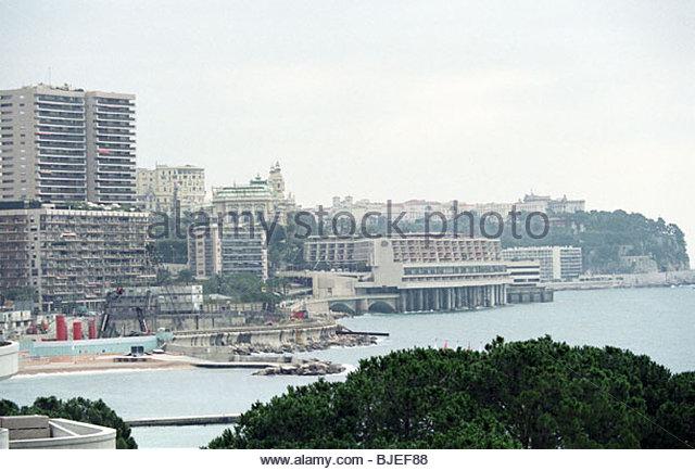 Januar 1997 Monaco. Stockbild