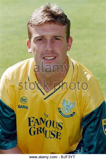 Saison 1997/1998 ST JOHNSTONE Leigh Jenkinson. Stockbild