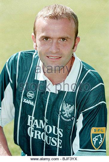 Saison 1997/1998 ST JOHNSTONE Allan Preston. Stockbild