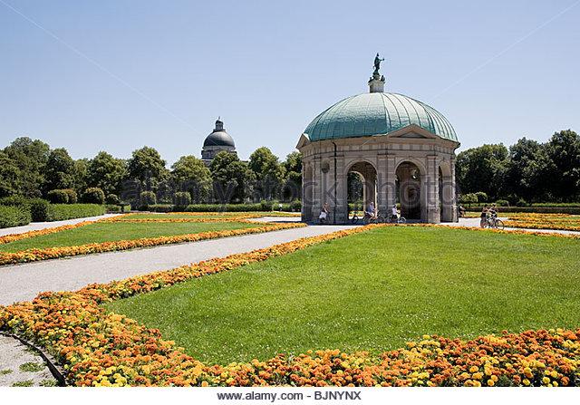 Hofgarten München Stockbild