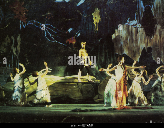 NIJINSKY - 1980 Paramount film Stockbild