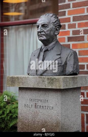 Schauspieler Rolf Berentzen, Bergen, Norwegen Stockbild