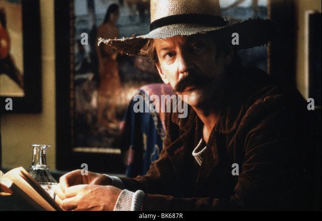 Setzte Jahr: 1986 Regie: Henning Carlsen Donald Sutherland Stockbild