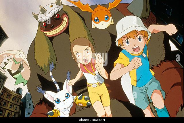 DIGIMON: DER FILM-2000 Stockbild