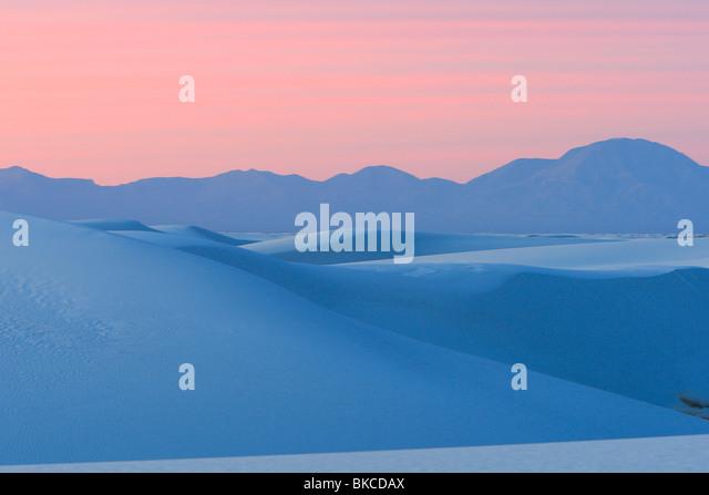 White Sands National Monument, New Mexico. Stockbild