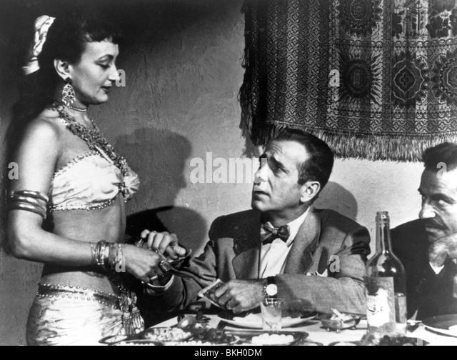 SIROCCO-1951 HUMPHREY BOGART Stockbild