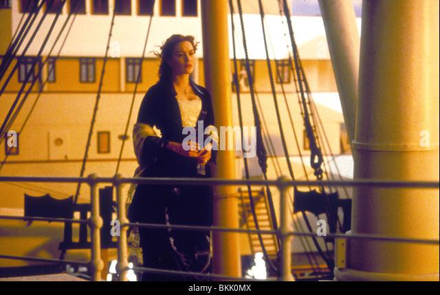 TITANIC-1997 KATE WINSLET Stockbild