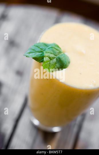 Ein Getränk Stockbild