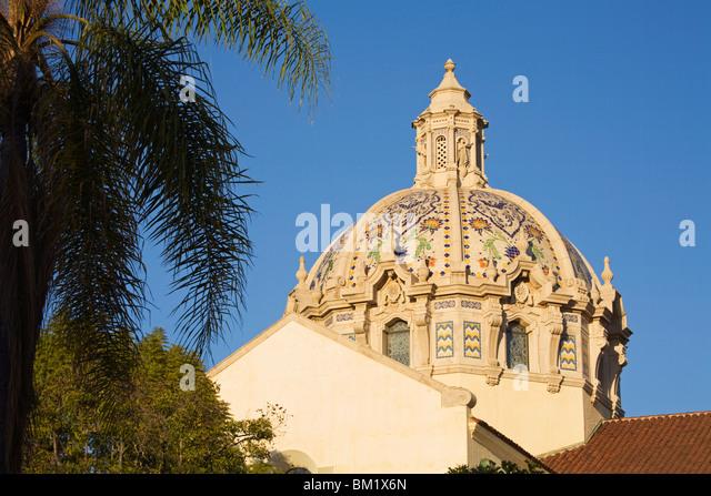 St. Vincent de Paul Kirche, Figueroa Street, Los Angeles, California, Vereinigte Staaten von Amerika, Nordamerika Stockbild