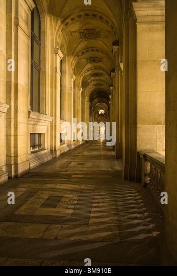 Frankreich, Paris, Louvre Stockbild