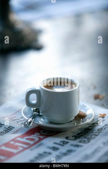 Kaffee Stockbild