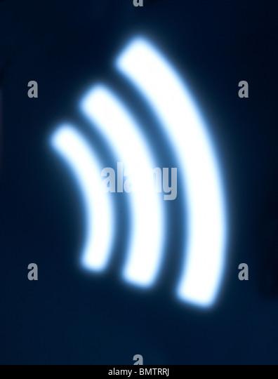 Wireless Wifi WLAN Stockbild