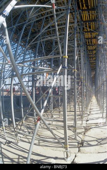 Baustelle. Stockbild