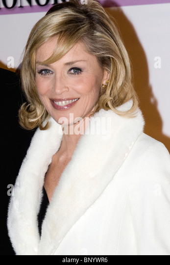Sharon Stone. Stockbild