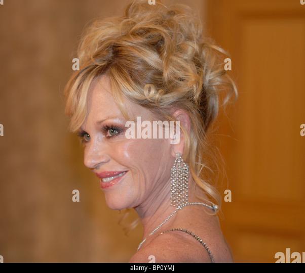 Melanie Griffith US-amerikanische Schauspielerin verheiratet mit spanische Schauspieler Antonio Banderas Stockbild