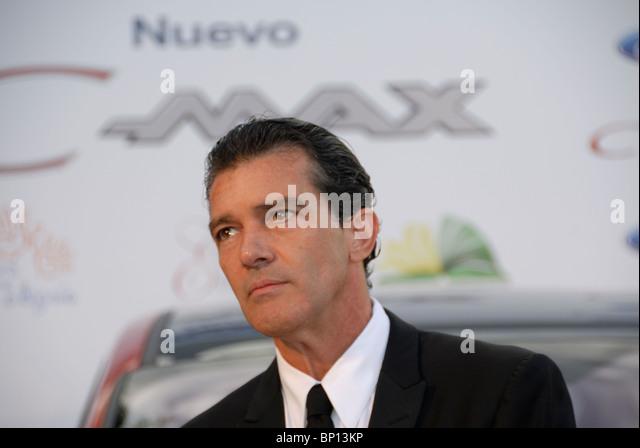 Antonio Banderas, spanischer Schauspieler bei der Starlite Chaity Gala Hotel Villa Padierna Benahavis Estepona Malaga Stockbild