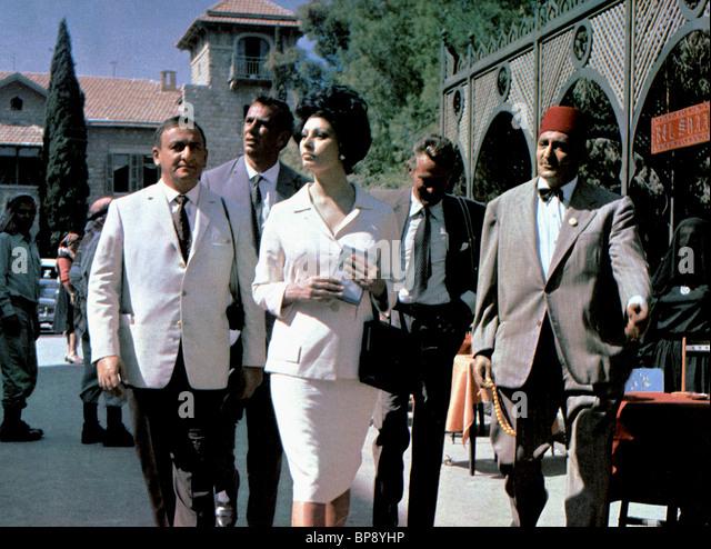 SOPHIA LOREN JUDITH; KONFLIKT (1966) Stockbild