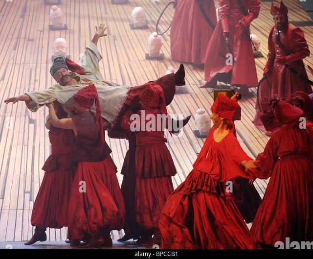 Pyotr Tchaikovsky Mazeppa erhält Premiere am Mariinsky Theater Stockbild
