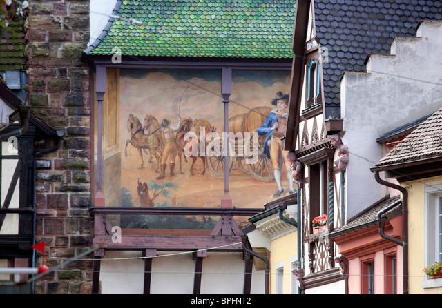Freiburg Im Breisgau, Baden-Württemberg deutschen, Deutschland Stockbild