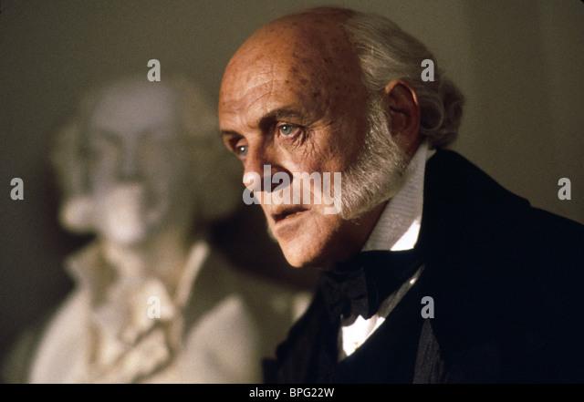 ANTHONY HOPKINS AMISTAD (1997) Stockbild