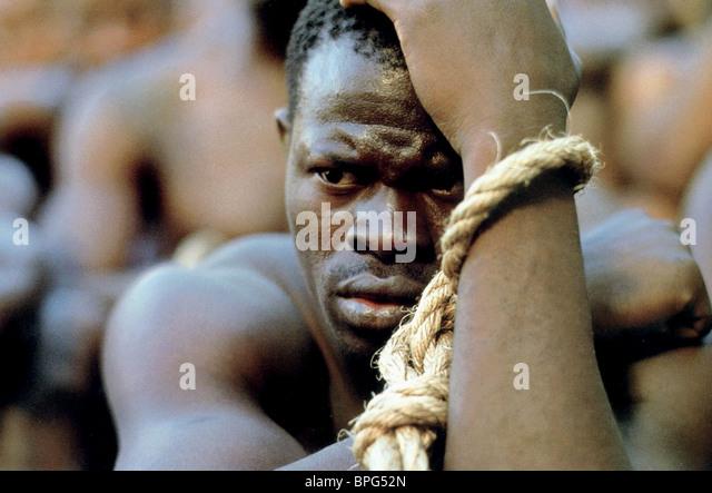 DJIMON HOUNSOU AMISTAD (1997) Stockbild
