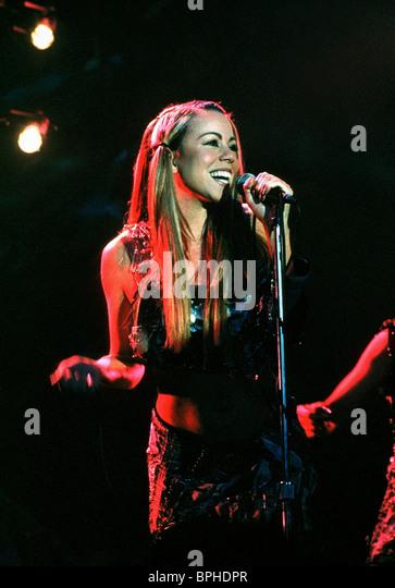 MARIAH CAREY GLITTER (2001) Stockbild