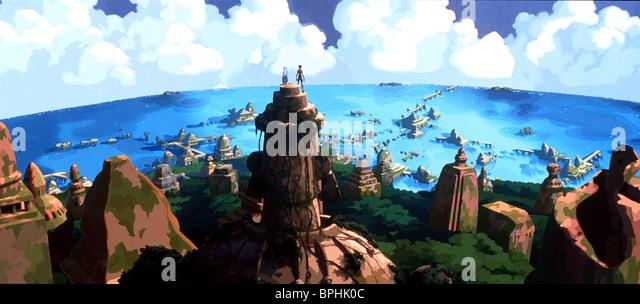 ALTE STADT VON ATLANTIS ATLANTIS: THE LOST EMPIRE (2001) Stockbild