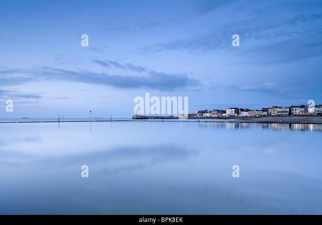 Küstenstadt Margate, Kent, England, Großbritannien, Europa Stockbild
